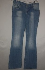 Lei Medium Blue Distressed Jeans 5 R